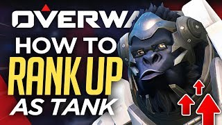 Top 5 Tank Tips For Ranking Up FAST! (Overwatch Guide)