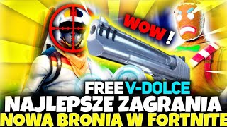 BEST ACTION with NEW WEAPONS in FORTNITE + FREE V-DOLCE, Intero