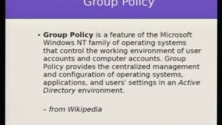 LibreOffice Conference 2016: Central config management of LibreOffice in Windows Server environment