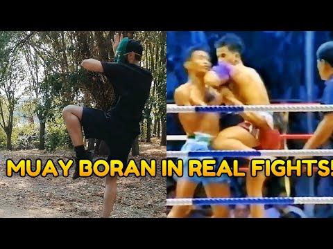 Muay Boran Techniques