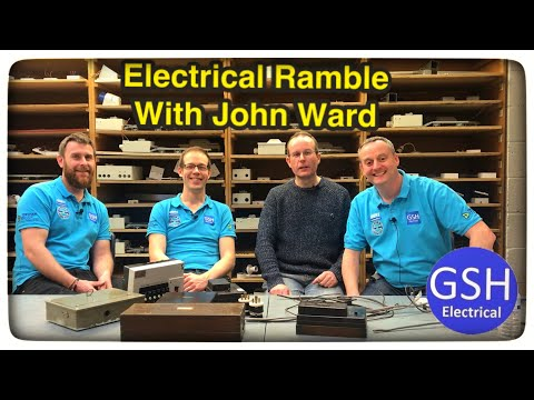 Electrical Ramble with the Legend that is John Ward at Tresham College