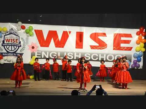 Wise school Annual Day Welcome Song 17-18