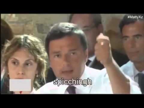 OMG! Matteo Renzi speaks english...funny video.