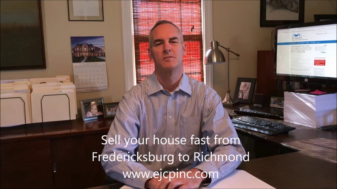 We Buy Houses in Fredericksburg & Richmond | 540-847-5687 | Sell Your House