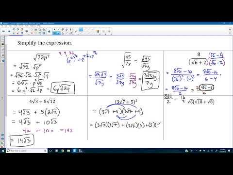 Chapter 9 Mid-Unit Review (Solving Quadratic Equations)