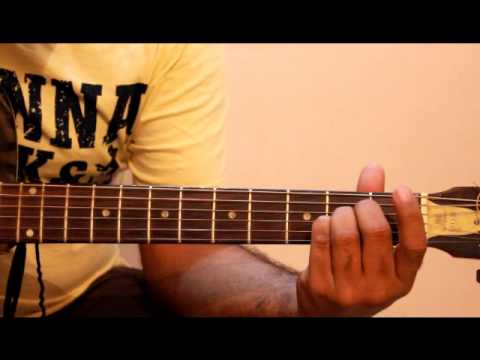 Finger Positions Of A B Chord Guitar Youtube