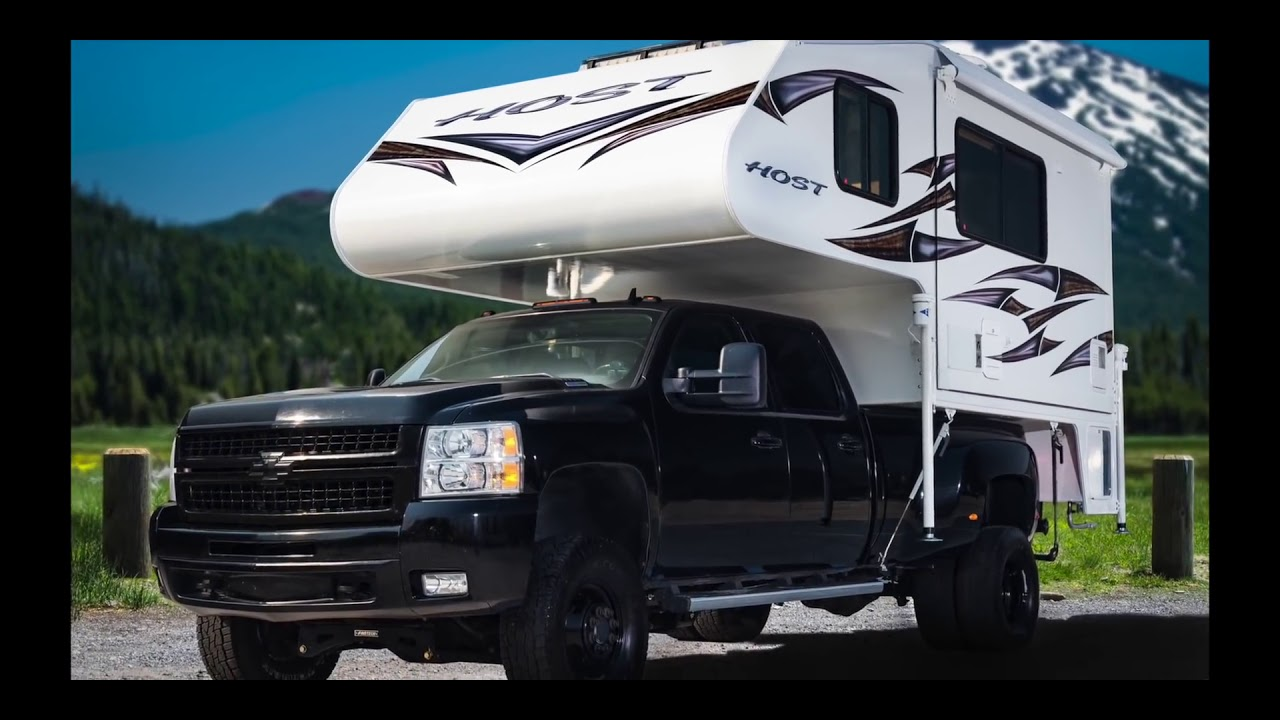 Host Campers 2018 Cascade Truck Camper Youtube
