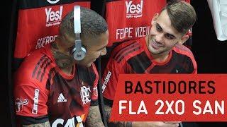 Bastidores   Flamengo 2x0 Santos