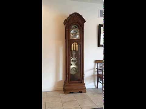 howard miller tempus fugit grandfather clock model 610-160