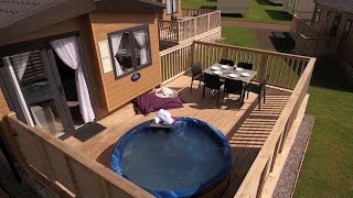 Hot Tub Caravans at Whitehill Country Park Paignton