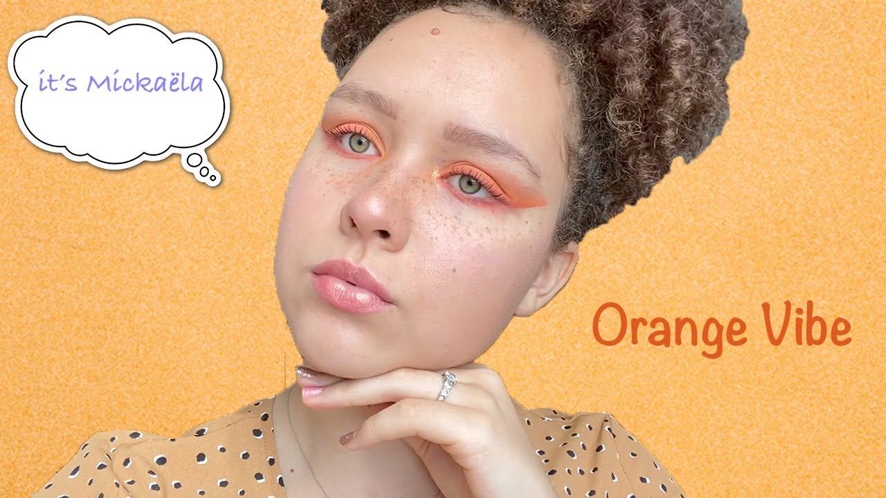 @Camille Ricordel: TUTO makeup monochrome orange