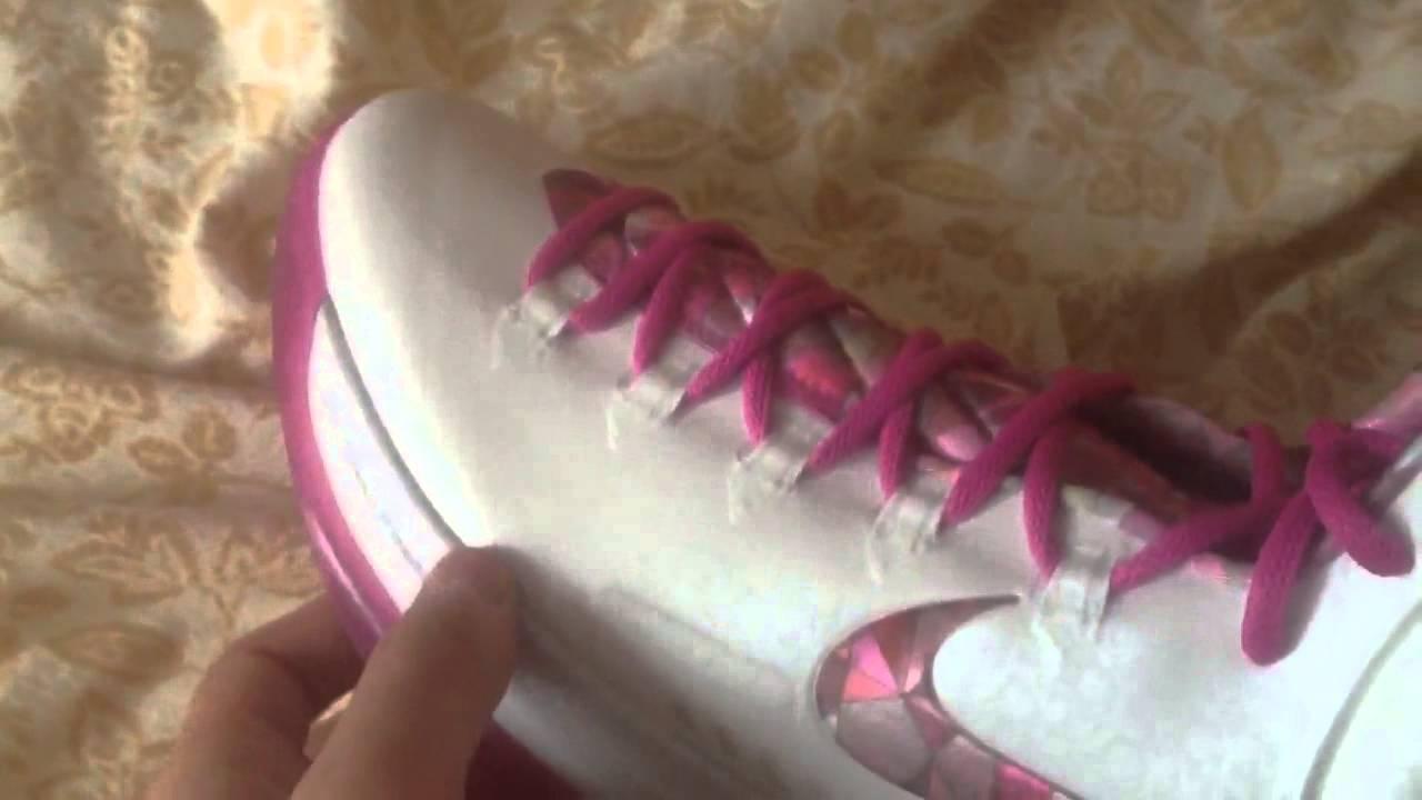 21f5b558625f Nike KD V premium aunt pearl breast cancer Kevin durant sho - YouTube