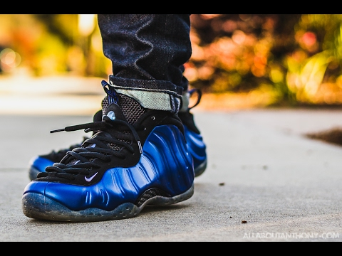 Nike Air Foamposite One Cheap Royal Blue BlackAnie Tchad