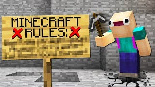 ASWD BREAKS THE FIRST RULE OF MINECRAFT
