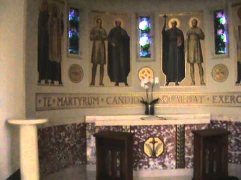 Madonna Del Strada Chapel Loyola University : Altar