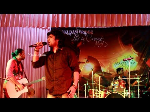 Tum ho-Siddharth Menon-Thaikkudam Bridge Live Concert at SBCE