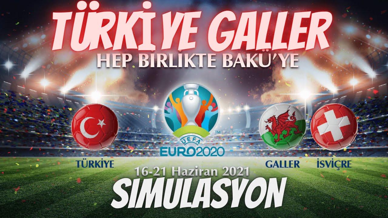 Türkiye - Galler | EURO 2020 Simülasyon (Muhteşem Sonuç)