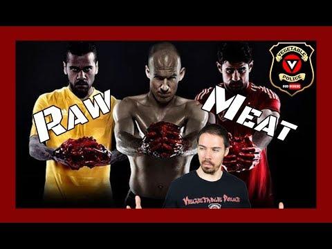 Raw Meat Diet vs Raw Vegan: Sv3rige, Natasha McBride and Tim Noakes. Paleo Disinformation Agents