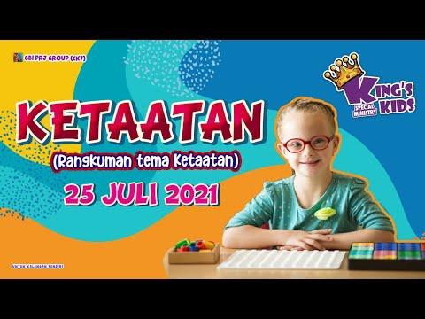 Ibadah Anak Special Needs (Online Service) - 25 Juli 2021