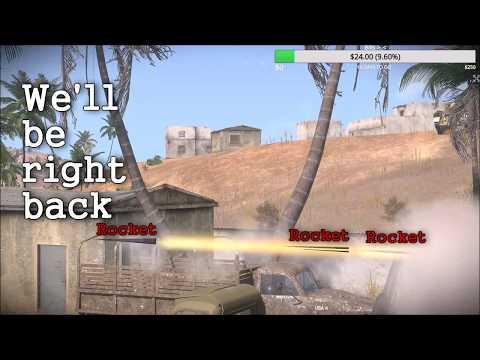 Katyusha Rocket Physics: Arma 3 Zeus iron Front Highlights