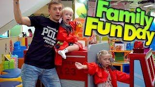 Милана продавец Мороженого Семейный выходной в ТОРГОВОМ ЦЕНТРЕ Едем на машине веселиться Family Box thumbnail
