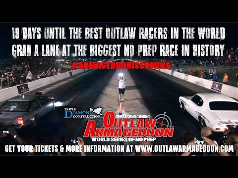 Outlaw Armageddon 2nd. Coming is Coming! Lock Up Your Daughters!#GearHeadsWorld