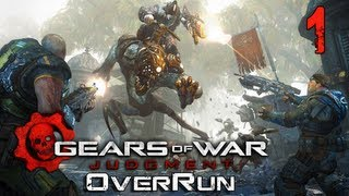 Gears of War Judgment Overrun Multiplayer Gameplay #1