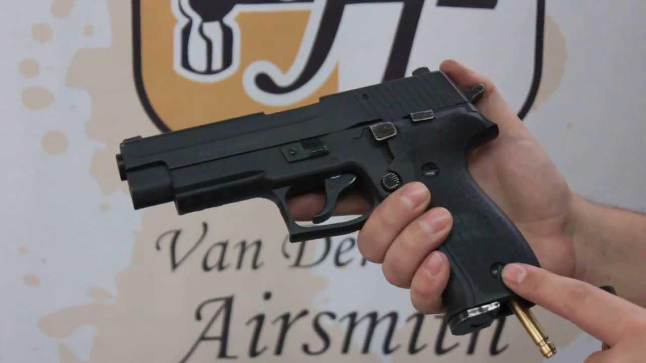 Van Der Hilst Airsmith Ram Pistol X50 Com Adaptador Para