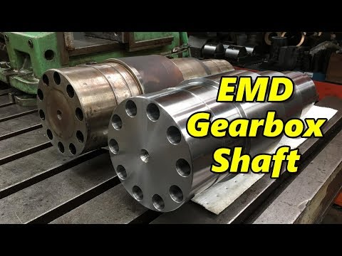 SNS 190: EMD Gearbox Shaft, Deep Hole Tapping