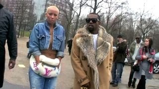Video Kanye West and Amber Rose, Karl Lagerfeld at Dior Men Fashion Show at Bercy in Paris, France download MP3, 3GP, MP4, WEBM, AVI, FLV Juli 2018