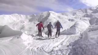 Kurt skiing in Davos powder snow Thumbnail