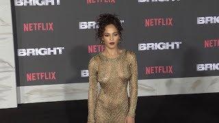 Megalyn Echikunwoke at Bright Premiere in Los Angeles