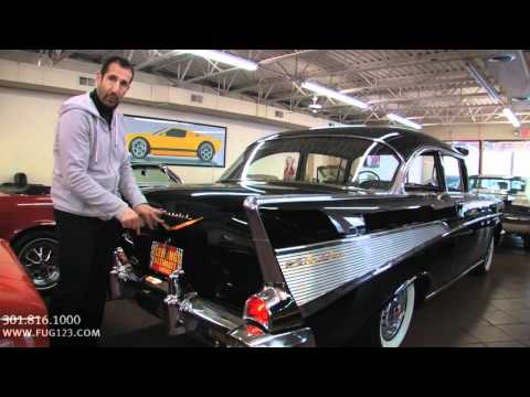 1957 Chevy Bel Air for sale with test drive, driving sounds, and walk through video