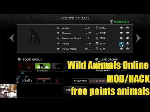 wild animals online hack apk