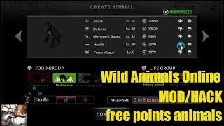 Wild Animals Online hack mod apk-free points animals