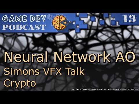 13 – Neural Network AO – Simons VFX Talk – Crypto