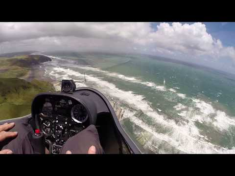 Coastal Gliding Fun - NZ West Coast