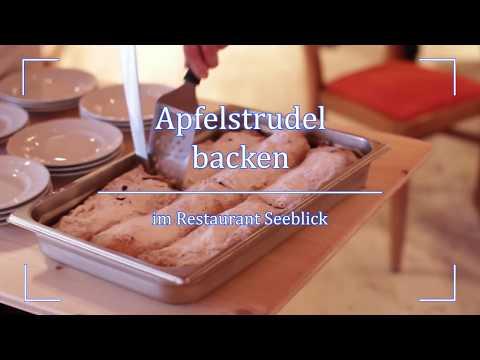 MONDI-HOLIDAY Seeblickhotel Grundlsee - Apfelstrudel Backen