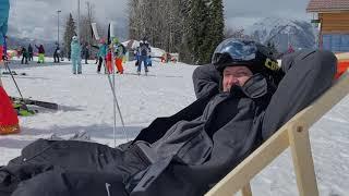 Горнолыжный курорт Газпром Синие трассы Красная Поляна