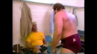 The Horsemen put the boots to Ole Anderson