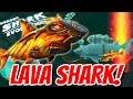 *NEW* LAVA SHARK IN HUNGRY SHARK!