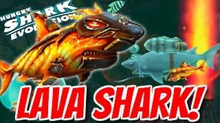 NEW LAVA BABY SHARK! | BOMB & FIRE ARE USELESS! | Hungry Shark Evolution Gadget Gameplay