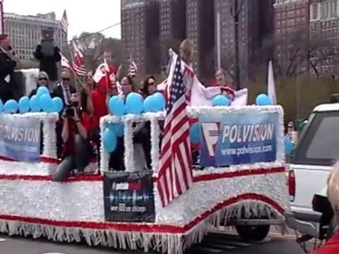 Polska parada 3-cio majowa w Chicago 2013.Polish Constitution Day Parade in Chicago 2013