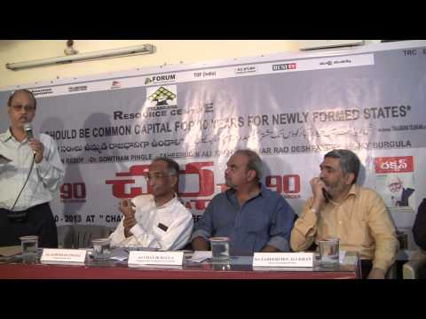 TRC Charcha 90 Why Hyderabad Should be Common Capital for 10 Years for Newly Formed State 1