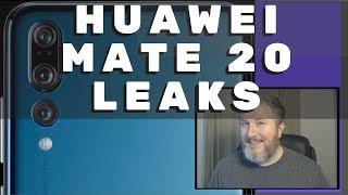 Huawei Mate 20 Leaks