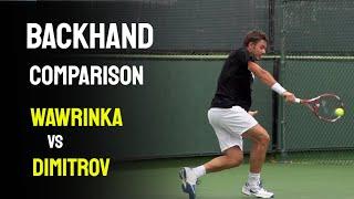 ATP Backhand Comparison - Stan Wawrinka vs. Grigor Dimitrov