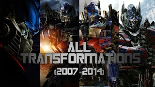 Transformers - All Transformations 2007 - 2014 [1080p]