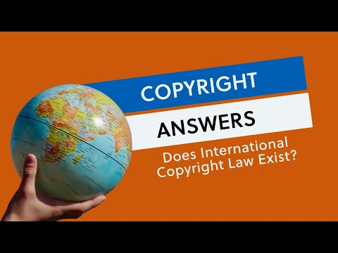 Does International Copyright Law Exist?
