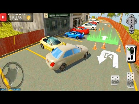 Taksi Oyunları (Eski Model) Bus & Taxi Driving Simulator #5 (Android Games)