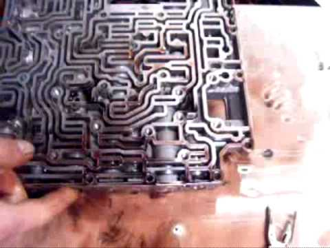 Ford AOD Transmission Valve Body Disassembly part 2